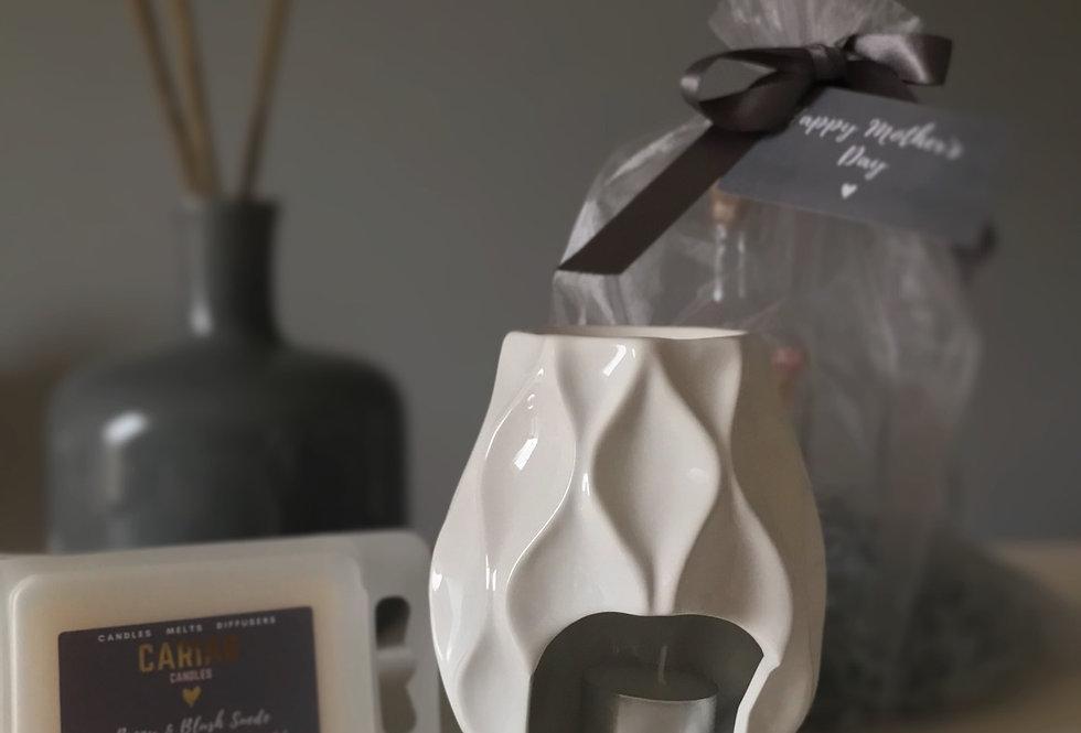 Luxury Gift Set - Nico Burner & Clamshell Melts