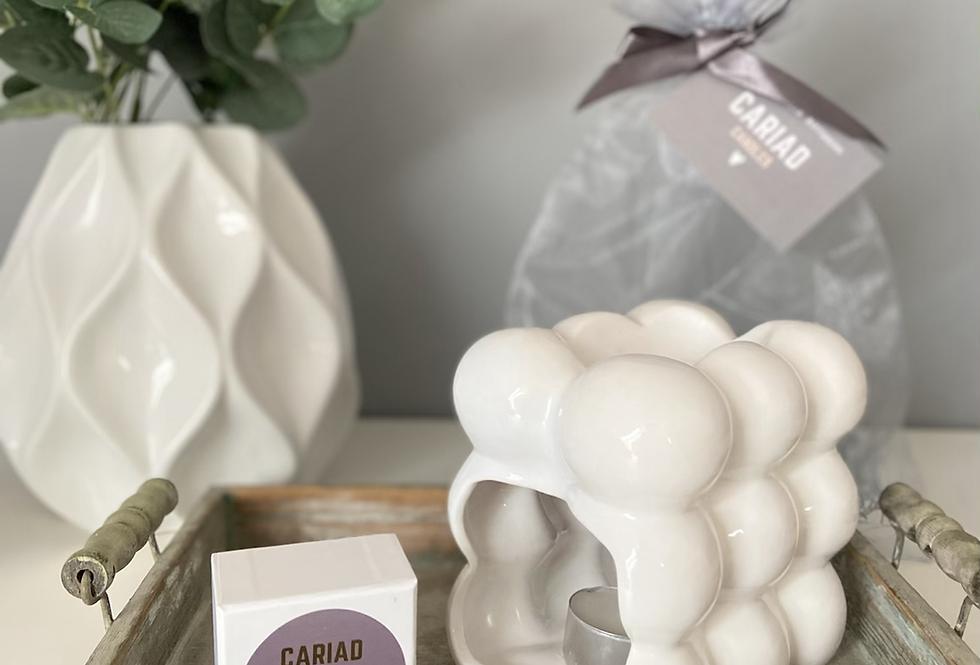 Luxury Gift Set - Bubble Burner & Heart Melts