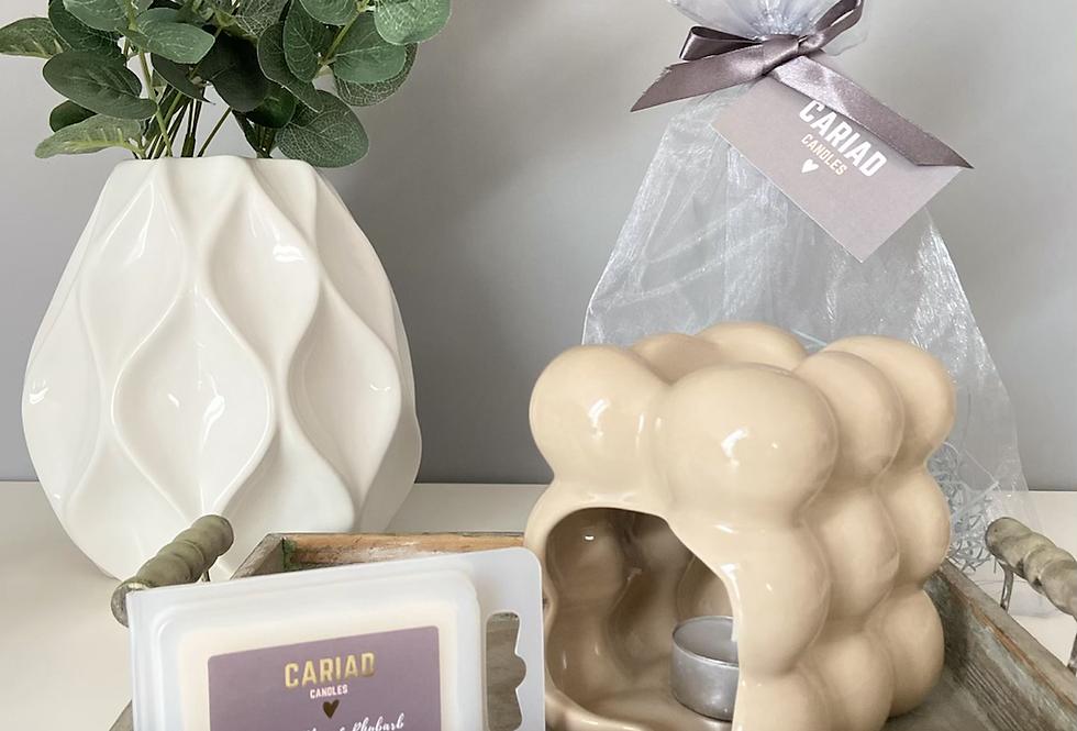 Luxury Gift Set - Bubble Burner & Clamshell Melts