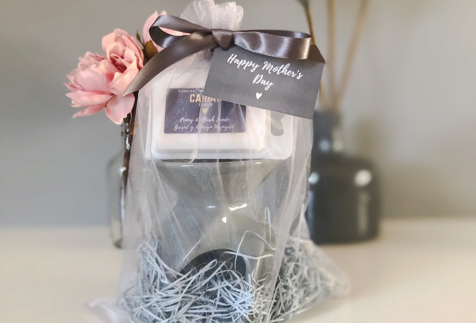 Luxury Gift Set - Leon Burner & Clamshell Melts