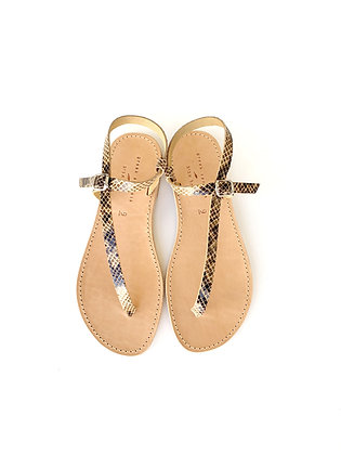 AHINOAM SANDALS FAUX SNAKE - SS2020