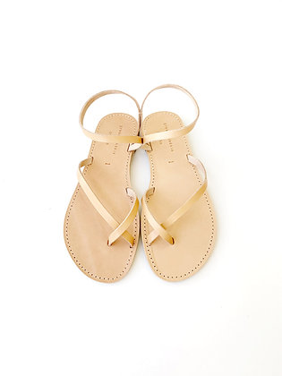 EDEN SANDALS NATURAL - SUMMER 2020