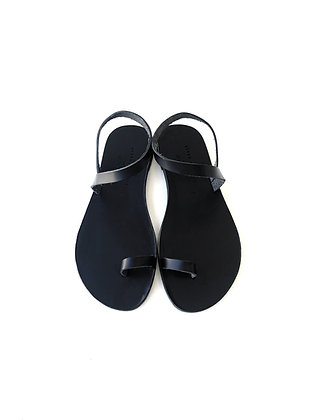 DEN SANDALS ALL BLACK - SUMMER 2020