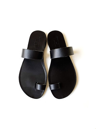 NOAH SANDALS ALL BLACK - SUMMER 2020