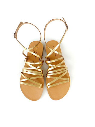 MAYA SANDALS ANTIQUE GOLD - SUMMER 2020