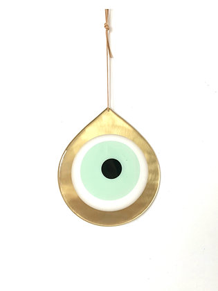 LARGE TIPA GOLD EYE - LIGHT GREEN