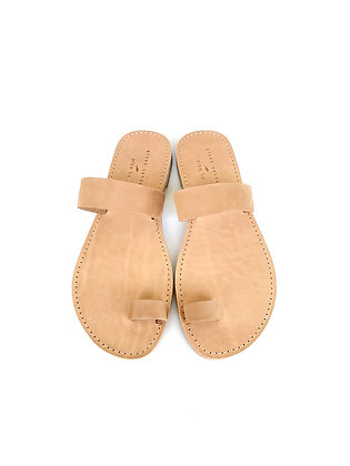NOAH SANDALS SUEDE CAMEL - SUMMER 2020