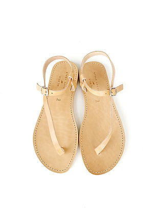 AHINOAM SANDALS NATURAL - SUMMER 2020