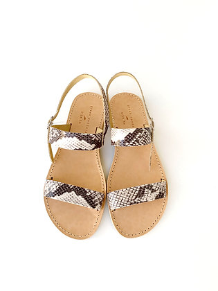 LEVANA SANDALS FAUX SNAKE - SUMMER 2020