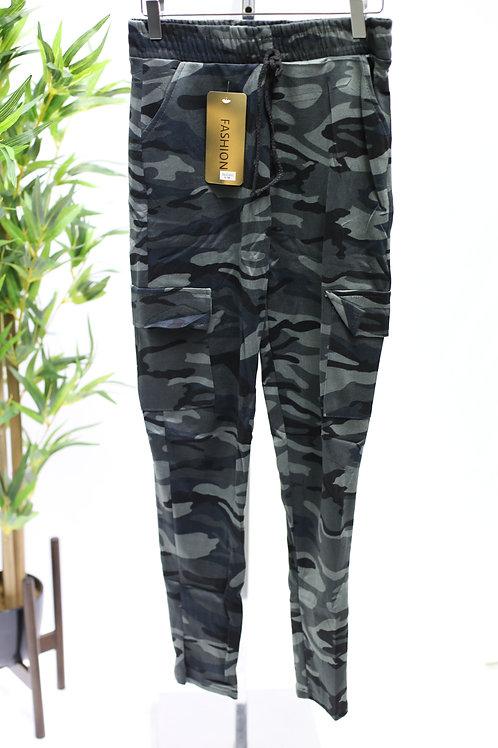 Camo Leggings -  Gold Label - Khaki and Grey