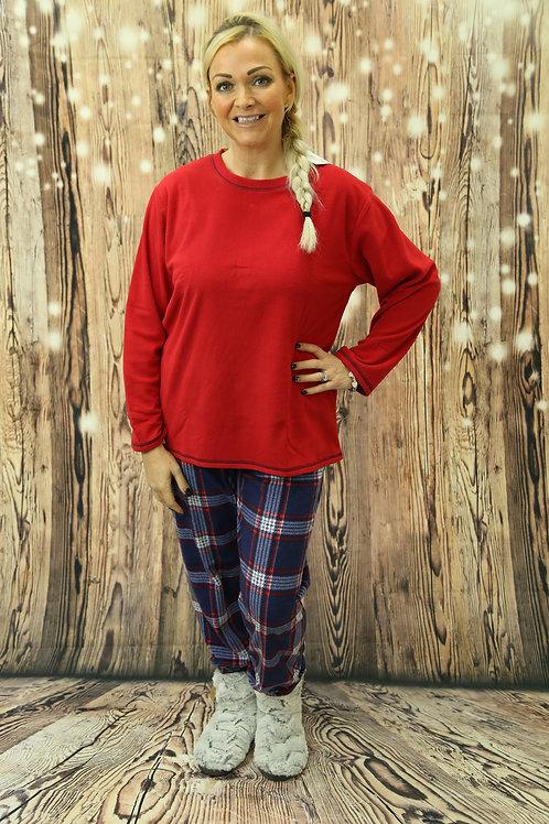 Fleece Flannel Pyjama Set