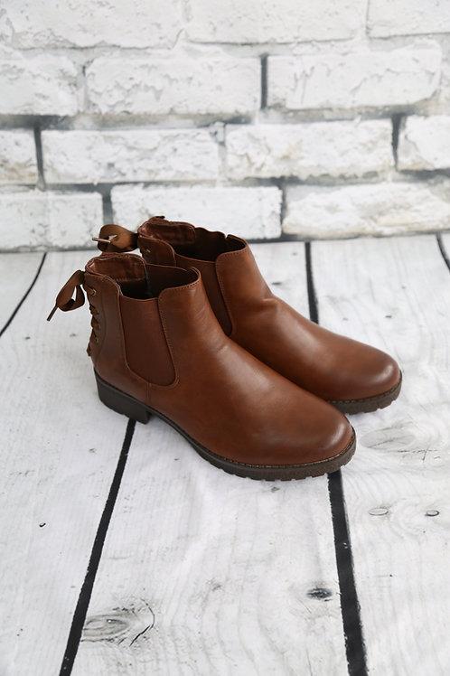 Camel Ribbon Boots
