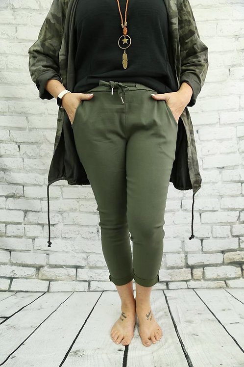 Khaki Magic Trousers