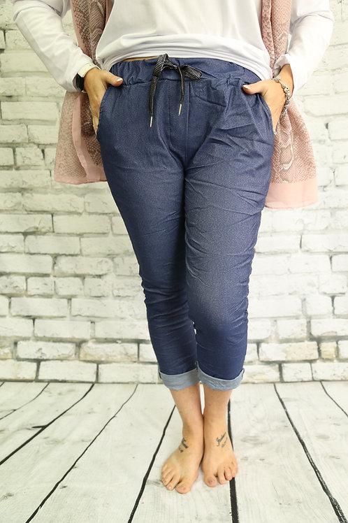 Blue Denim Magic Trousers