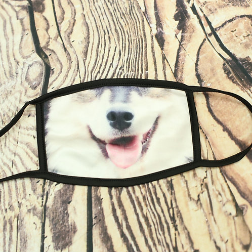 Dog Tongue Face Mask