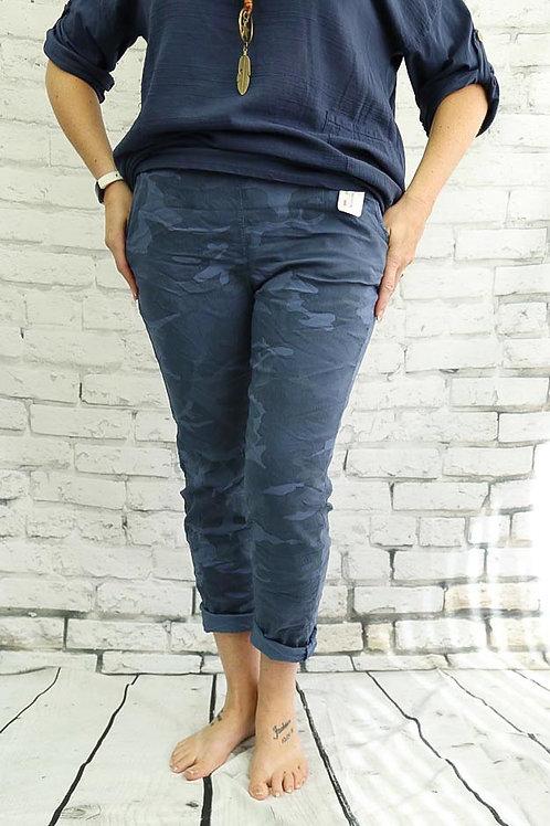 Blue Camo Magic Trousers