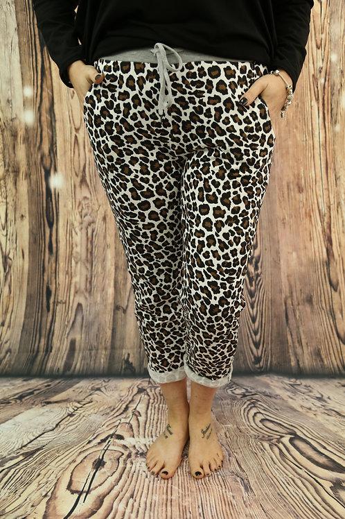 New Leopard Print Jogger