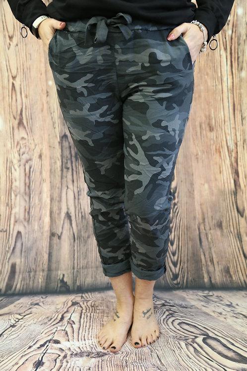 Dark Grey Camo Magic pants