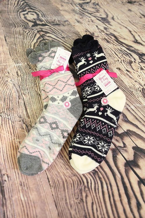 Winter Lounge Socks