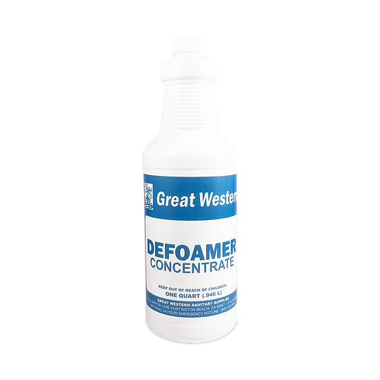Great Western Defoamer Concentrate - 1 Quart