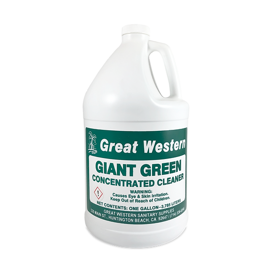 Great Western Giant Green Concentrated Cleaner - 1 Gallon
