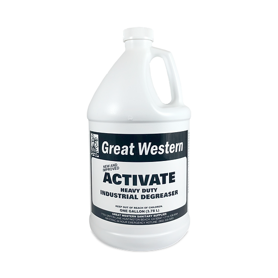 Great Western Activate Heavy Duty Degreaser - 1 Gallon