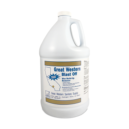Great Western Blast Off Wax Build-Up Remover - 1 Gallon