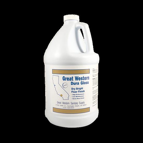 Great Western Dura Gloss Dry Bright Floor Finish - 1 Gallon