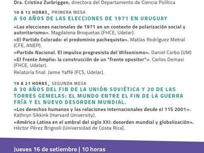 Jornada de Historia Política