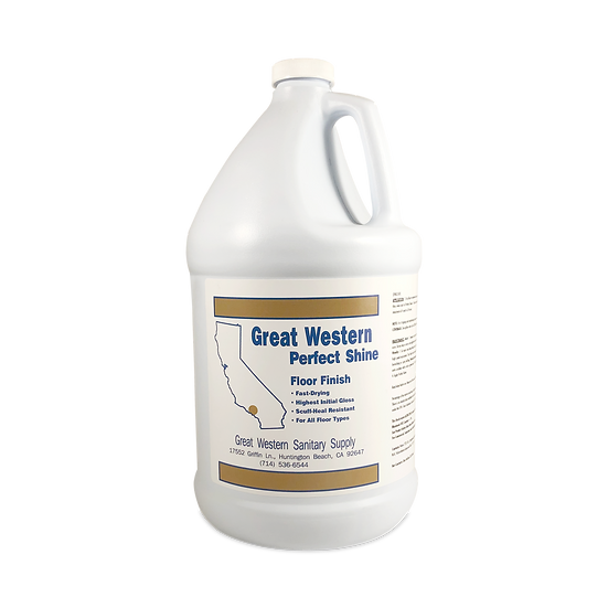 Great Western Perfect Shine Floor Finish - 1 Gallon