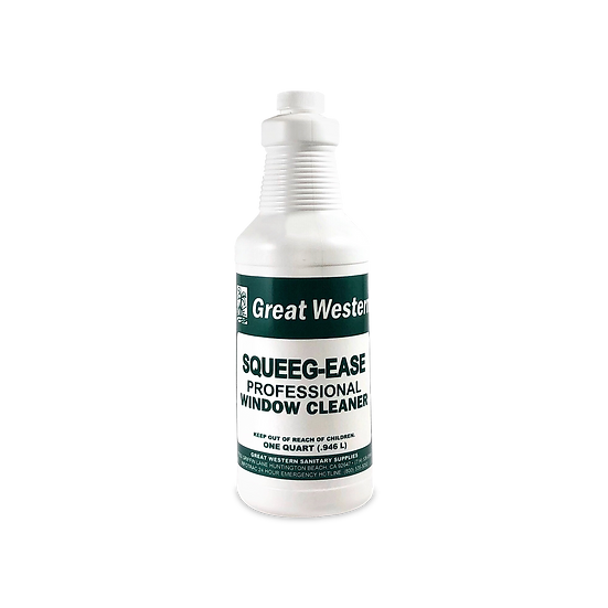 Great Western Squeeg-Ease Professional Window Cleaner - 1 Quart