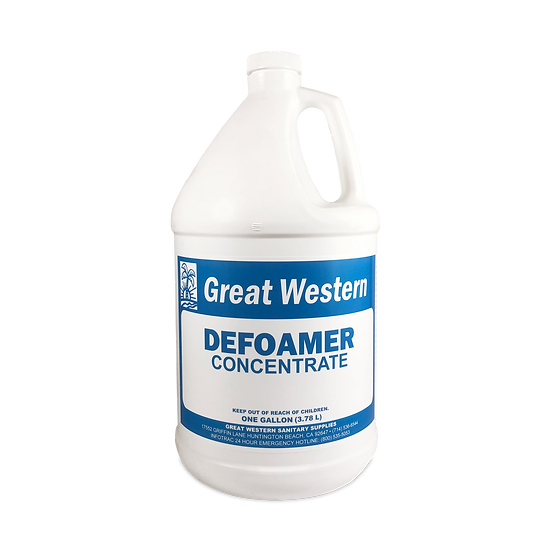 Great Western Defoamer Concentrate - 1 Gallon