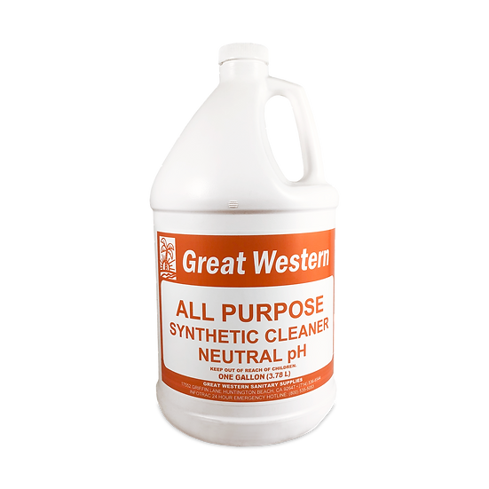 Great Western All Purpose Synthetic Cleaner - 1 Gallon