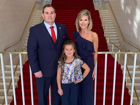 Rep. Bell Sworn-in for 2021-22 Legislative Session