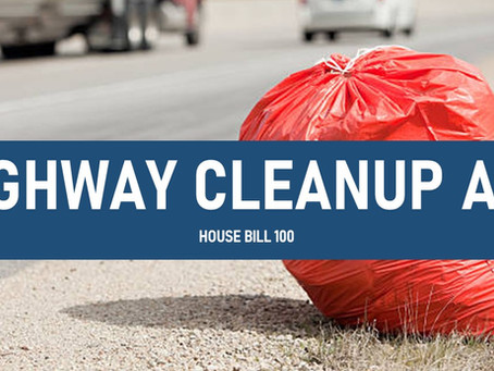 Rep. John Bell Introduces the Highway Cleanup Act
