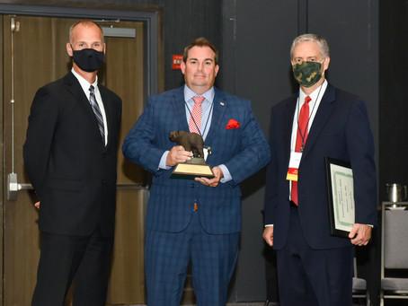 "Majority Leader John Bell Earns ""Legislator of the Year"" Award from NC Wildlife Federation"