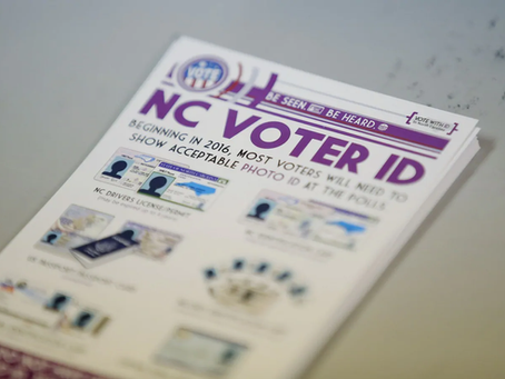 BREAKING: Federal Court Upholds NC Voter ID Law