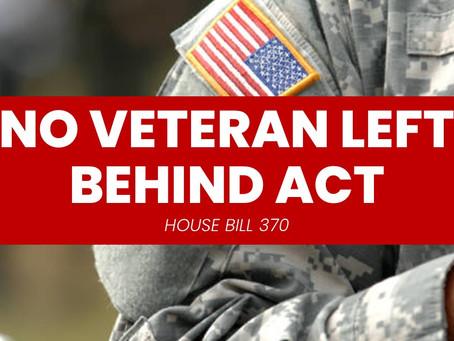 "NC Lawmakers File ""No Veteran Left Behind Act"""