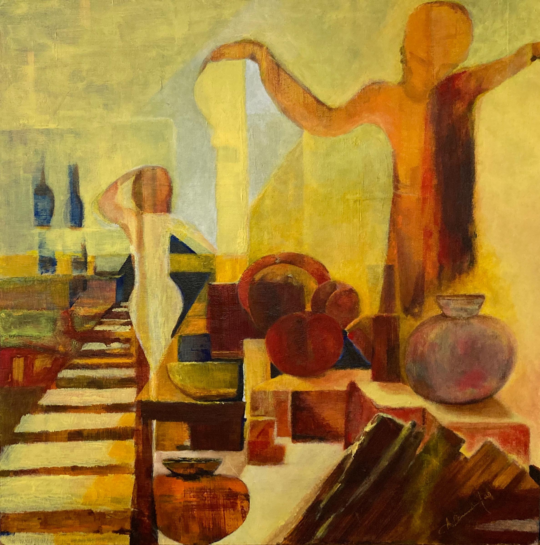 Vessels and Peaches/ Vasijas y Duraznos