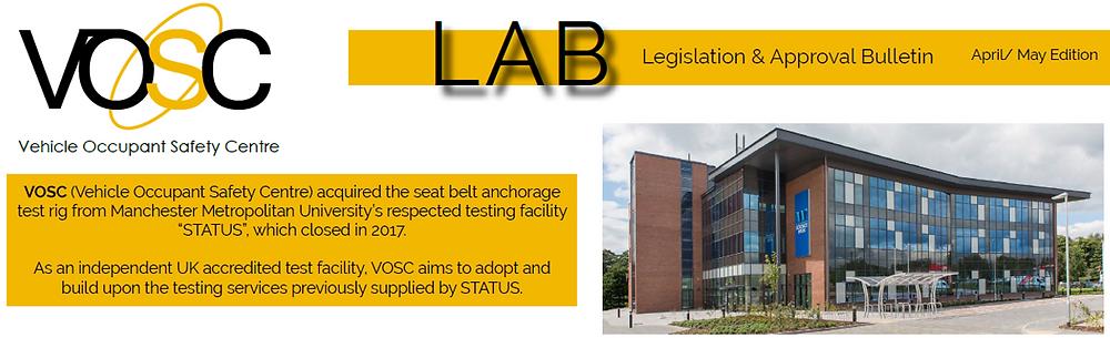 VOSC Legislation & Approvals Bulletin