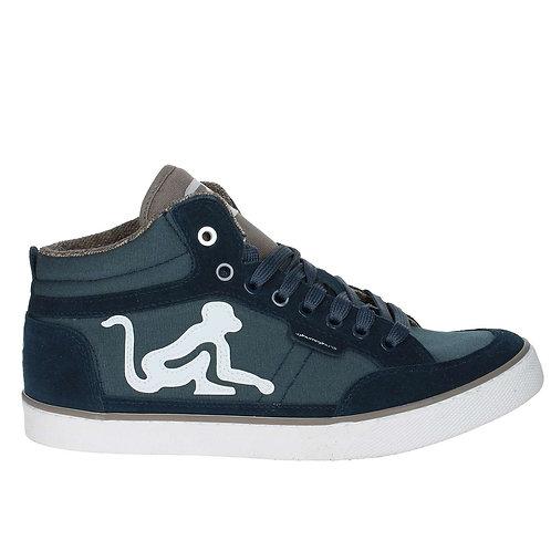 Drunknmunky Sneaker High Boston Lite Classic Blu E Taupe