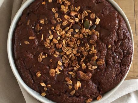 Chocolade bake granola