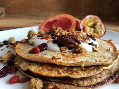 Proteïne rijke granola pannenkoekjes