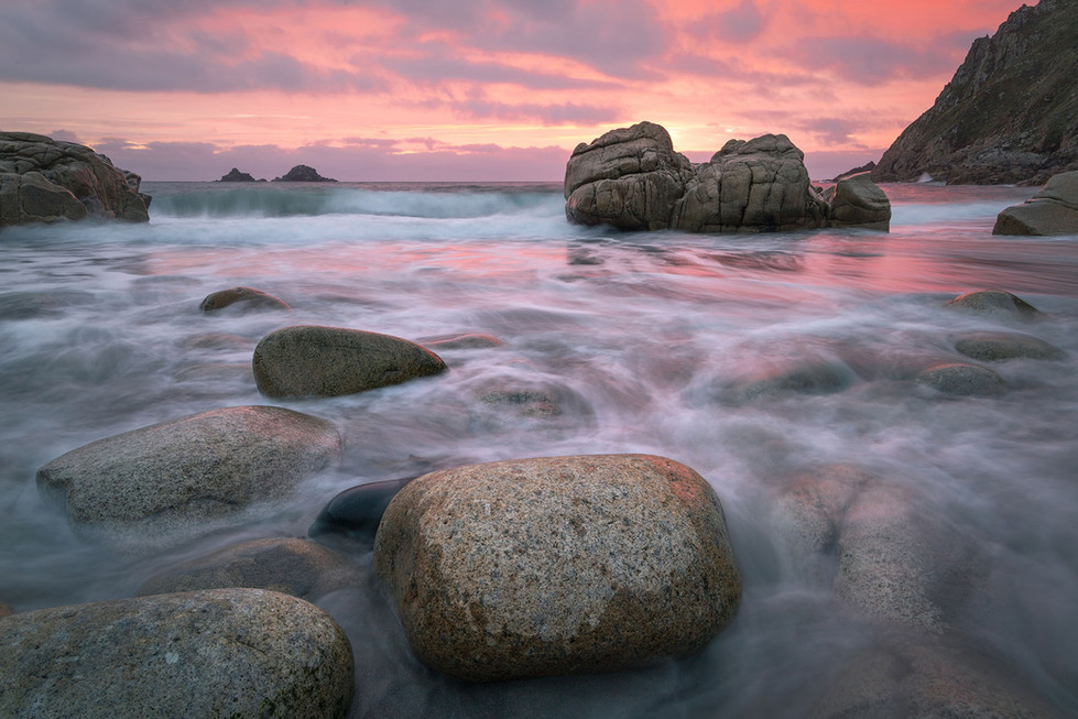 PORTH NANVEN AFTERGLOW