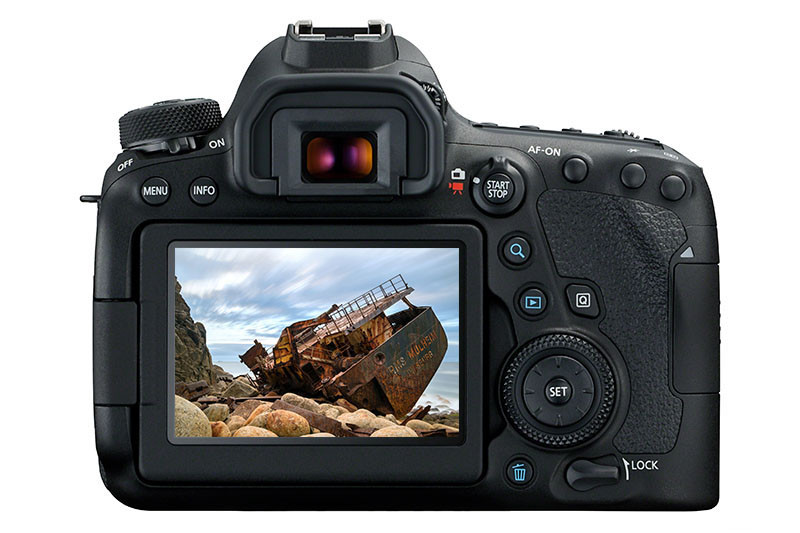 Canon 6D MkII (Back)