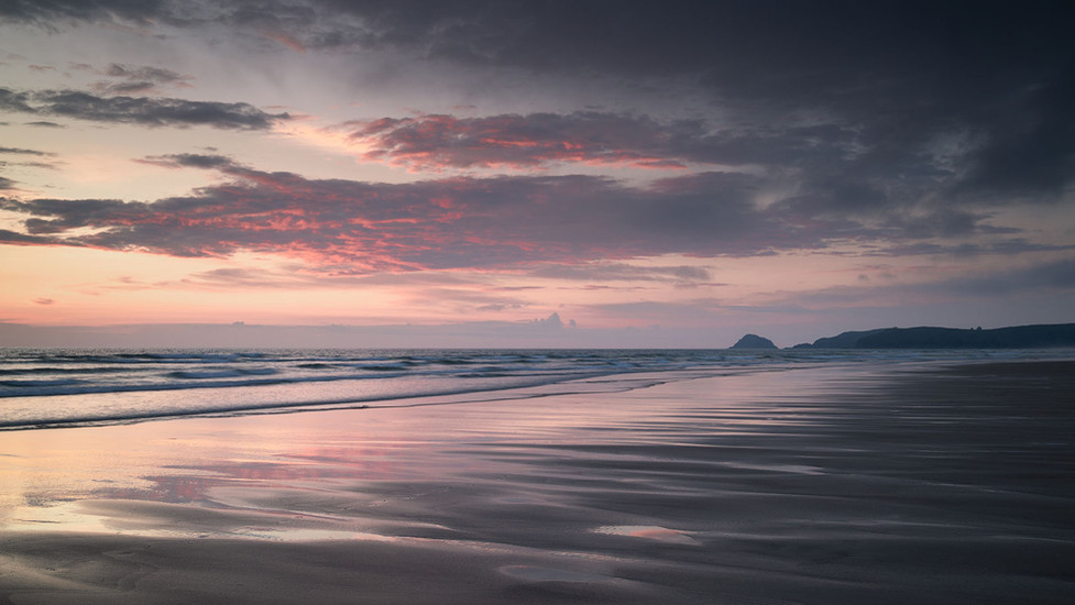 PERRANPORTH AFTERGLOW