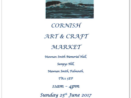 Craft Fayre - Mawnan Smith - 25th June