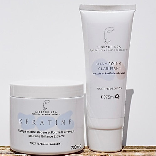 Kit Lissage Kératine    100ml