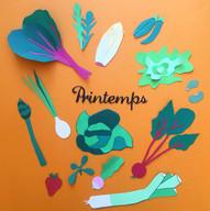 Fruits et légumes de printemps