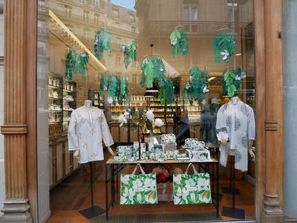 Vitrines boutiques Fragonard